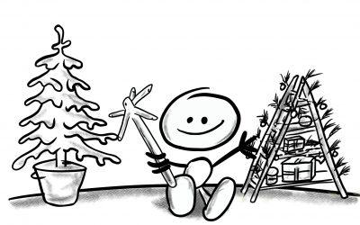 Weihnachtsbaum und Klimaschutz